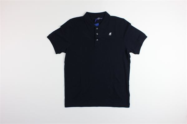 polo mezza manica tinta unita K-WAY | Polo | K0089N0BLU