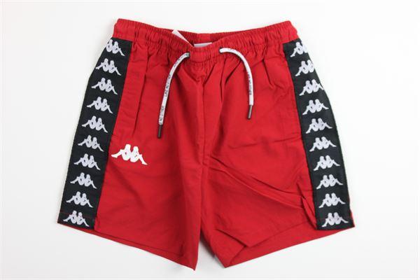 boxer tinta unita profili in contrasto KAPPA | Costumi | 304IE90ROSSO