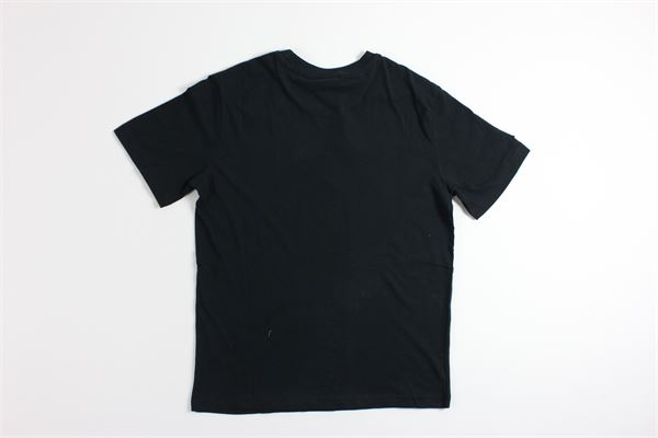 t-shirt mezza manica tinta unita con stampa KAPPA | T-shirts | 3111FRWNERO
