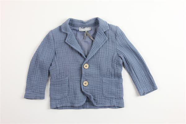 giacca tinta unita 100%cotone KID'S COMPANY | Giacche | GYKC21426BMCELESTE