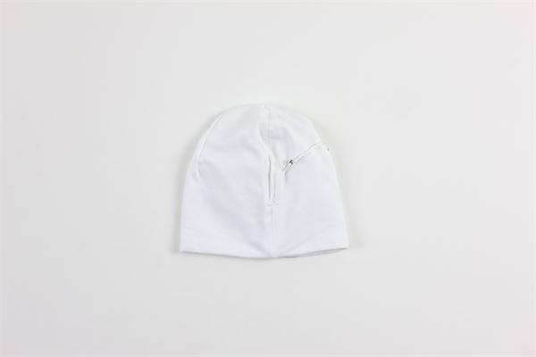 cappello tinta unita con applicazioni LA SARTORIA DEI PICCOLI   Cappelli   LK301BIANCO