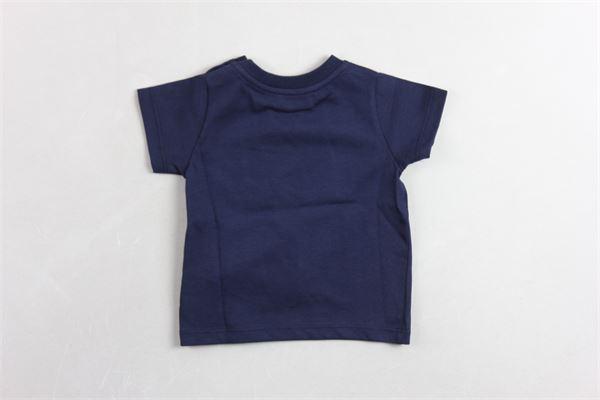 t-shirt mezza manica con stampa LANVIN | T-shirts | 4K8331KA050BLU