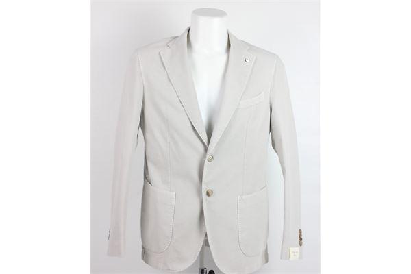 giacca tinta unita L.B.M.01911 | Giacche | 2371BEIGE