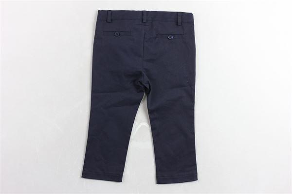 pantalone tinta unita tasca america LE BEBE' | Pantaloni | LBB0541BLU