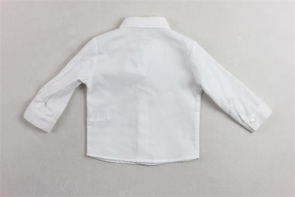 camicia manica lunga tinta unita LE BEBE' | Camicie | LBB1433BIANCO