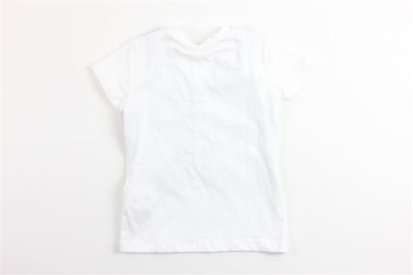 t-shirt mezza manica tinta unita finto panciotto LE BEBE' | T-shirts | LBB1935BIANCO
