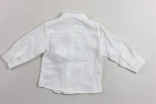 camicia manica lunga tinta unita LE BEBE' | Camicie | LBB1990BIANCO