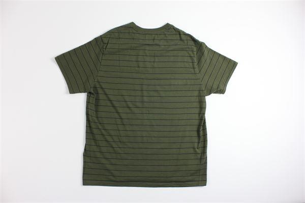 t-shirt mezza manica tinta unita fantasia a righe LEVI'S | T-shirts | 17164VERDE MILITARE