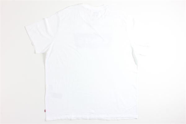 t-shirt mezza manica tinta unita con stampa LEVI'S | T-shirts | 17783BIANCO