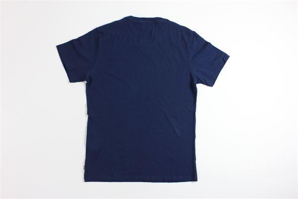 t-shirt mezza manica tinta unita con stampa LEVI'S | T-shirts | 17783BLU