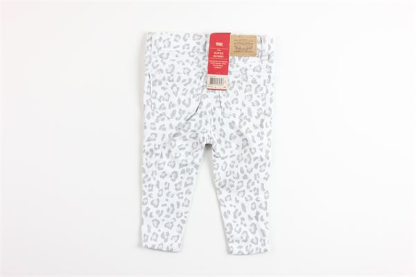 jeans fantasia maculata girovita regolabile LEVI'S | Jeans | 1E9200BIANCO