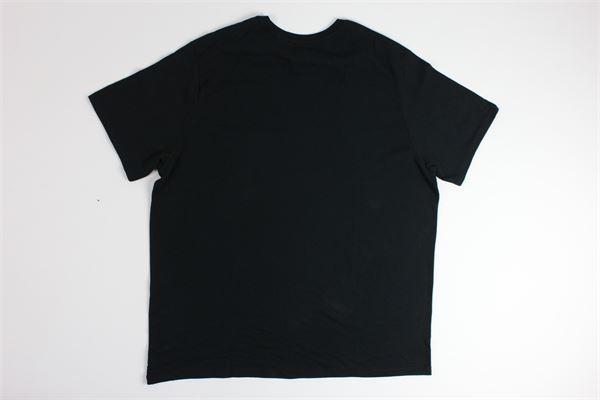 t-shirt tinta unita con stampa logo LEVI'S | T-shirts | 566050009NERO