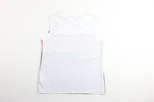canotta tricolore con stampa LEVI'S | Canotte | 73477-0000BIANCO/BLU