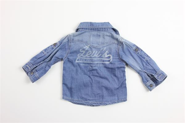 camicia in denim tinta unita 100%cotone LEVI'S   Camicie   NL12014BLU