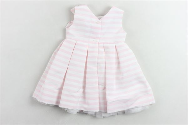 LITTLE BEAR | Dress | 7066BIANCO/ROSA