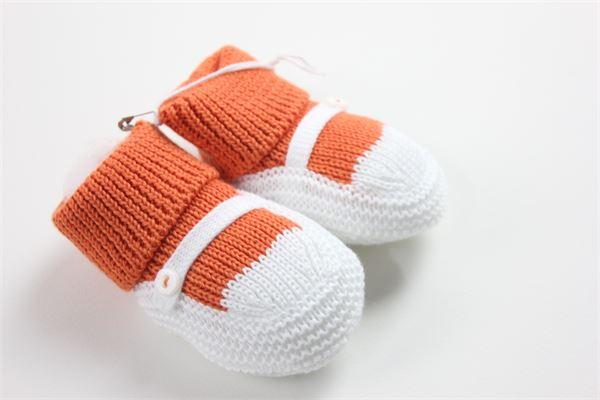 LITTLE BEAR | Shoes | 9125ARANCIO/BIANCO