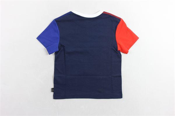 t-shirt con stampa LITTLE MARC JACOB | T-shirts | W25375BLU