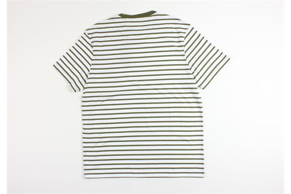 t-shirt mezza manica fantasia a righe LYLE&SCOTT | T-shirts | 20302BIANCO/VERDE