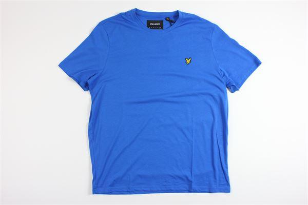 t-shirt mezza manica tinta unita LYLE&SCOTT | T-shirts | 20315BLU ELETTRICO