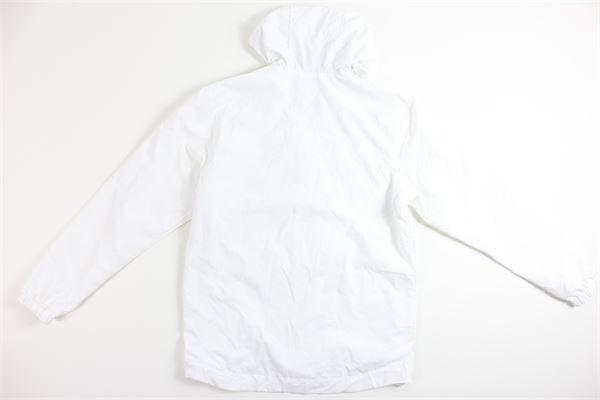 giubbino tinta unita con zip e cappuccio LYLE&SCOTT | Giubbini | 20494BIANCO
