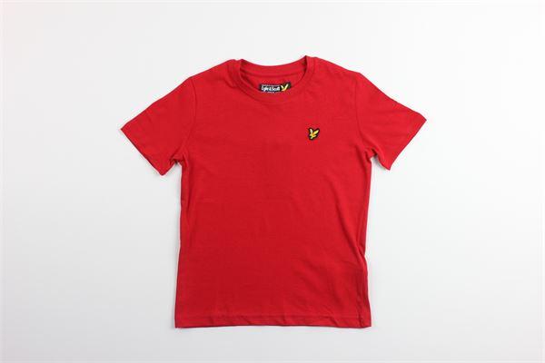 t-shirt mezza manica tinta unita LYLE&SCOTT | T-shirts | LSC0003SROSSO