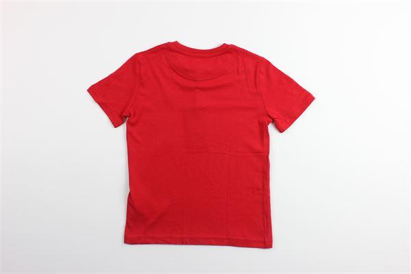 t-shirt mezza manica tinta unita LYLE&SCOTT   T-shirts   LSC0003SROSSO