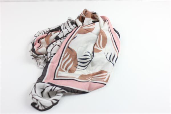foulard con stampa fantasia MALIPARMI | Foulards | S0/IB0241ROSA