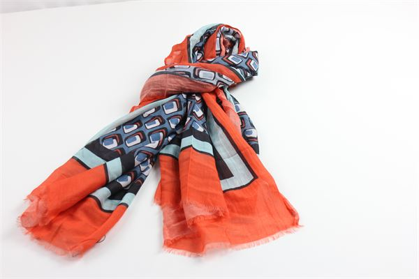 foulard con stampa fantasia MALIPARMI | Foulards | S0/IB0334MULTICOLOR