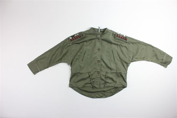 MANILA GRACE   Jackets   MB83VERDE MILITARE