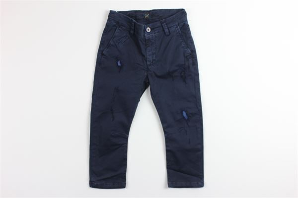 MANUEL RITZ | Trousers | MR0220BLU