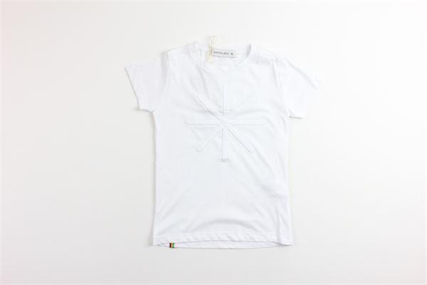t-shirt tinta unita mezza manica MANUEL RITZ | T-shirts | MR0694BIANCO