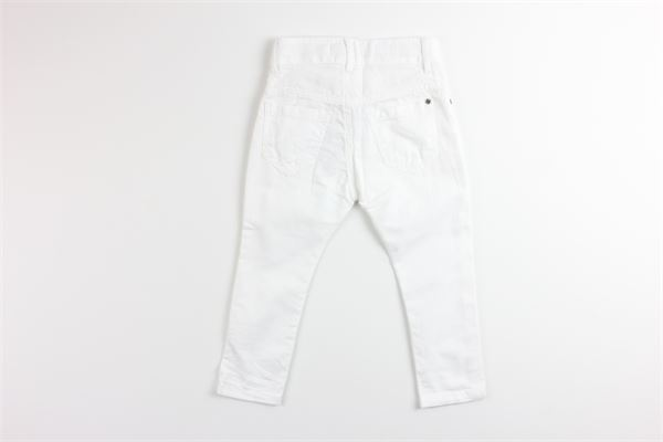 MANUEL RITZ | Trousers | MR1084BIANCO