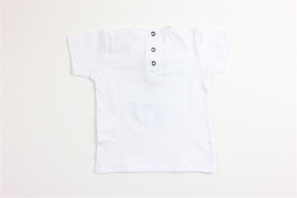 t-shirt tinta unita con stampa MAPERO | T-shirts | M21212BIANCO