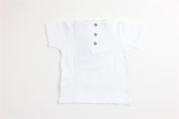 t-shirt tinta unita con stampa MAPERO | T-shirts | M21218BIANCO