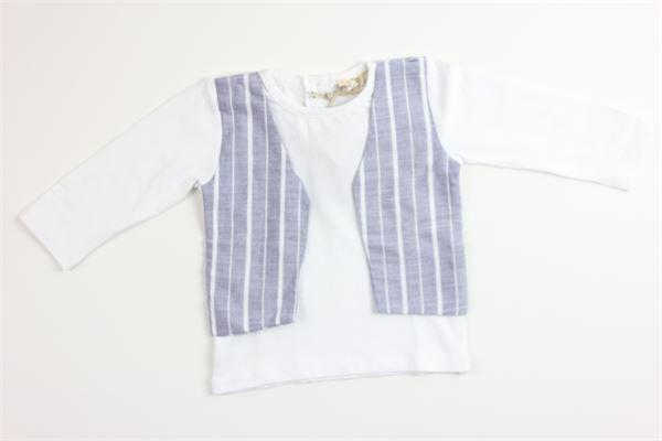 shirt tinta unita con gilet MAPERO | Shirts | M21231BIANCO