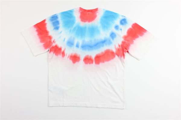 t-shirt mezza manica tricolore 100%cotone MARCELO BURLON | T-shirts | MB1126BIANCO