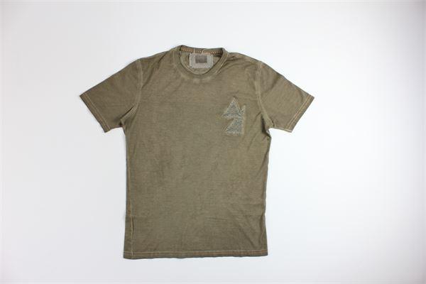 t-shirt mezza manica tinta unita MARTIN ZELO | T-shirts | 910FANGO