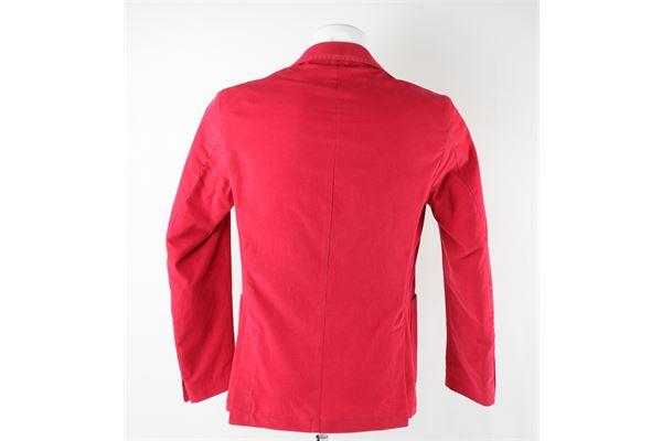 giacca doppio petto tinta unita MARTIN ZELO | Giacche | AB28ROSSO