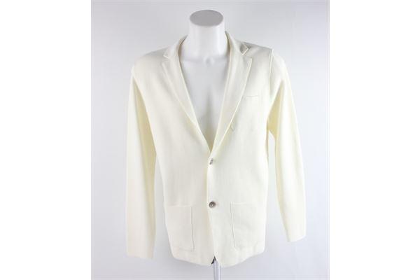 giacca modello cardigan tinta unita con tasche MARTIN ZELO | Giacche | GC3PANNA