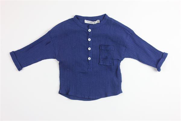 camicia 100%cotone tinta unita manica lunga MASSAGE IN THE BOTTLE | Camicie | ALFREDOBLU
