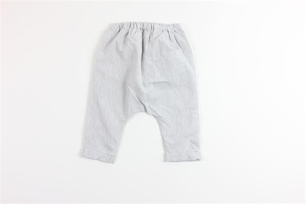 pantalone fantasia a righe elastico in vita MASSAGE IN THE BOTTLE | Pantaloni | TRAVISSGRIGIO