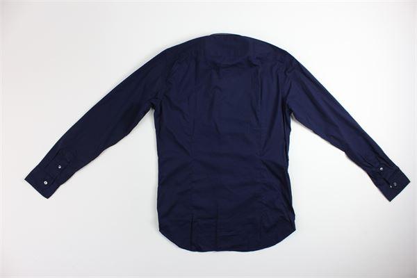 MASTRICAMICIAI | Shirts | FS049-CN128BLU