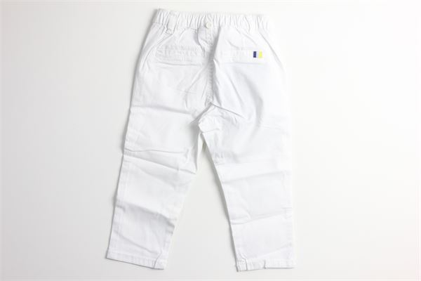 pantalone tinta unita con elastico in vita e bretelle MAYORAL | Pantaloni | 1542BIANCO