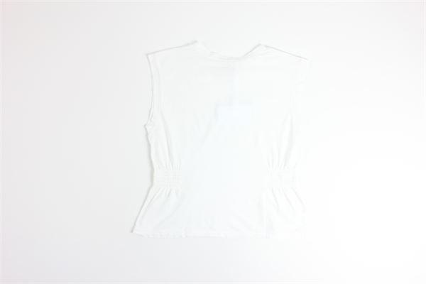 canotta spalla larga tinta unita MERCI | Canotte | MM221BIANCO