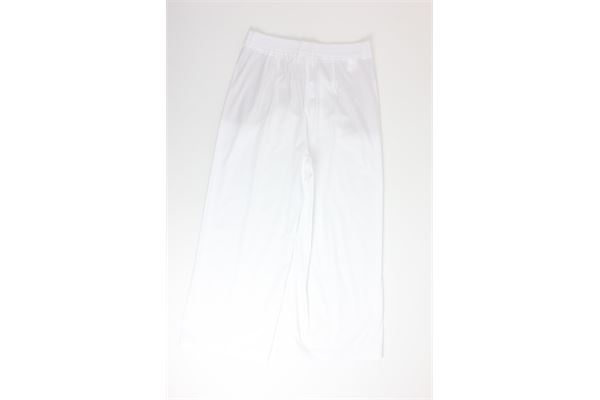 pantalone a palazzo tinta unita MERCI | Pantaloni | P245PBIANCO