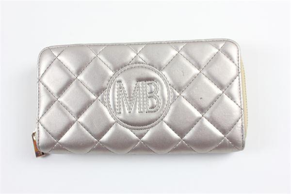 portafoglio con zip trapuntato con logo MIA BAG | Portafogli | 16300ORO