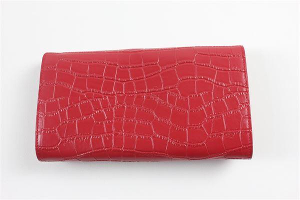 portafoglio tinta unita con applicazioni MIA BAG | Portafogli | 19116MBROSSO