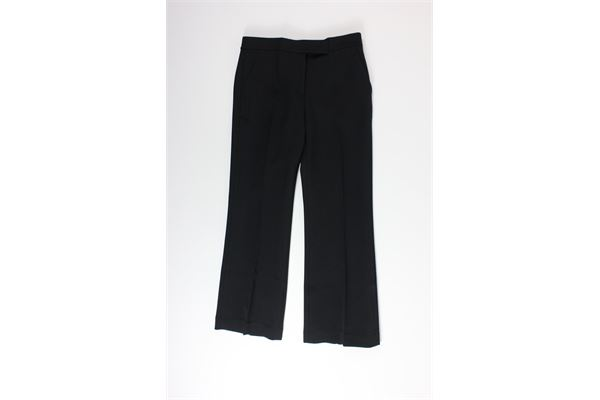 pantalone tinta unita a zampetta MICHAEL KORS | Pantaloni | MH93H8B3GZNERO
