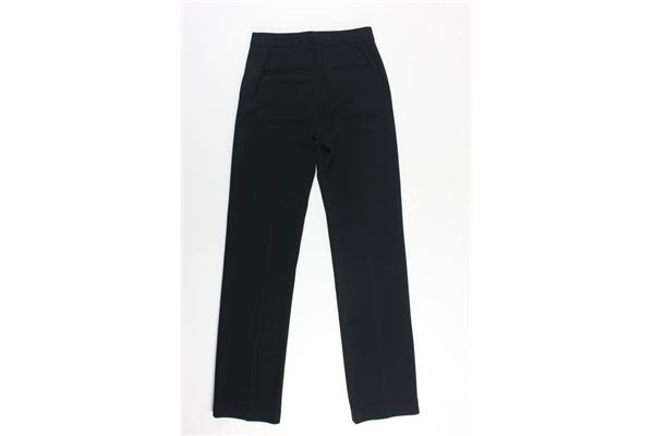 pantalone a palazzo tinta unita MICHAEL KORS | Pantaloni | MS83GTX80K7500NERO