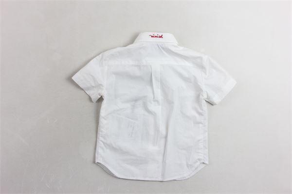MIMISOL | Shirts | 19EB602ST3800BIANCO